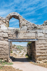 main gate of the ancient Chersonesos