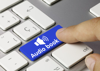 Audio book. keyboard