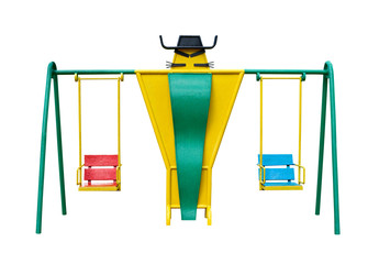 Baby swing front view
