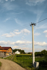 Power Grid in a Balkan Village