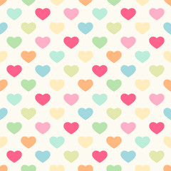 Seamless heart pattern 4