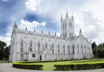 St. Paul's Cathedral Kolkata, a view from North