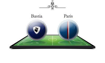 Bastia vs Paris