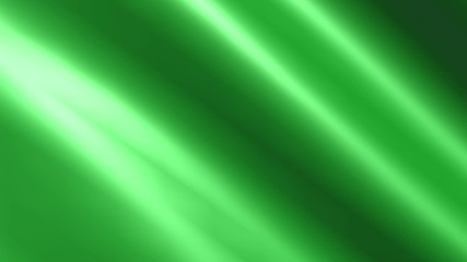 Looping animated shiny green cloth.