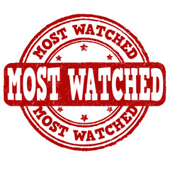 Most watched stamp