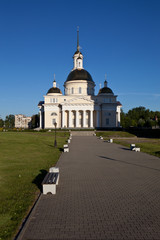 Transfiguration Cathedral. Nevyansk. Russia.