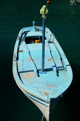 stara łódź rybacka