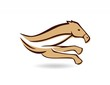 horse logo silhouette, race horse symbol icon