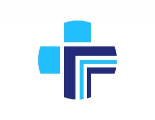 medical logo,foundation health medicine,plus symbol