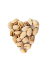 heart of pistachios