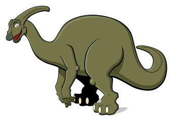 Parasaurolophus for children