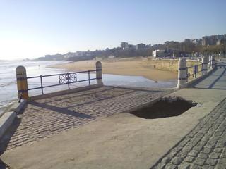Santander desperfectos temporal olas