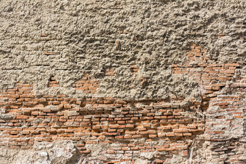 Old Grungy Brick Texture Background
