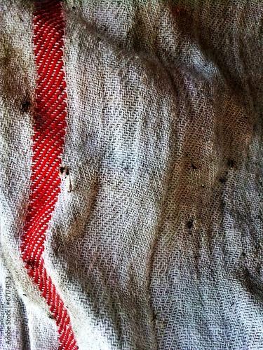 A dirty kitchen rag