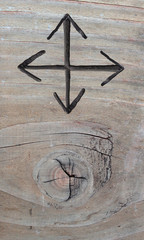 4 Richtungen