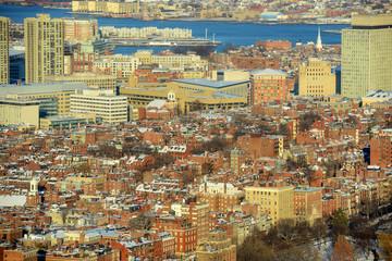 Beacon Hill historical apartments, Boston, Massachusetts