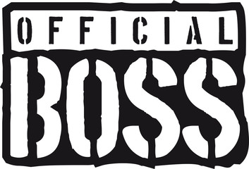 Cool Logo Design Official Boss