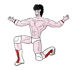 muscle cartoon