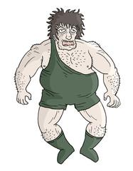 Strong wrestler