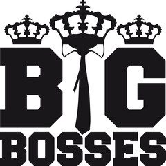 Big King Tie Bosses