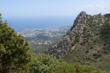 В Керинийских горах. Северный Кипр