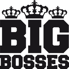 Big King Bosses