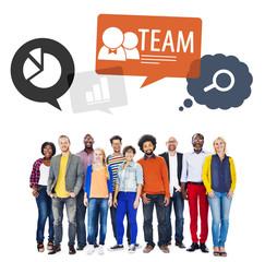 Teamwork in diversified environment