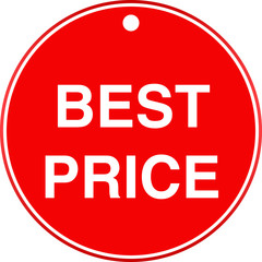 Best price label