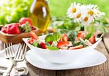 Fototapety strawberry salad