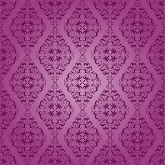 Seamless pattern with ethnic motifs