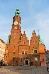 Town hall in Wroclaw, Poland