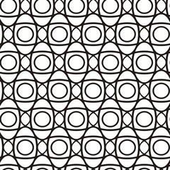Vector illustration of seamless geometric pattern