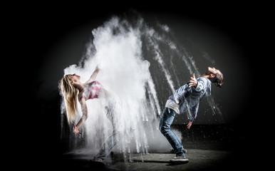 Danseurs couple