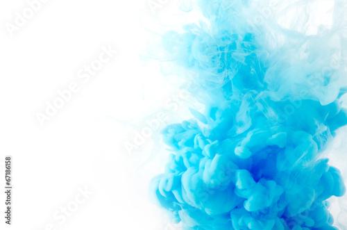 Leinwandbild Motiv Cloud of ink in water