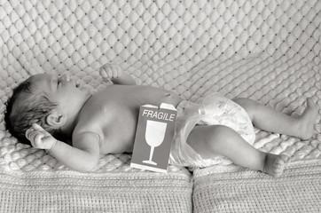 Newborn baby - fragile