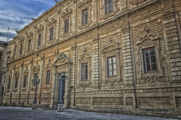 Palace of the Province in Lecce