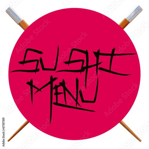 menu sushi - 67187189
