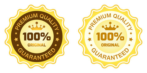 100 Premium Quality Label