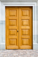Wooden decorative doors