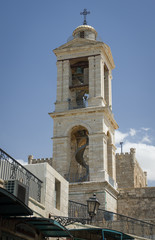 church of nativity bell tower