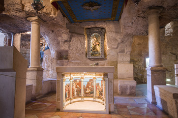 Milk Grotto chapel at Bethlehem, west bank - Israel