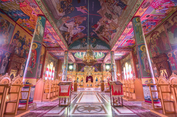 Shepherds' Fields Church interior at Beit Sahour, Bethlehem - Is