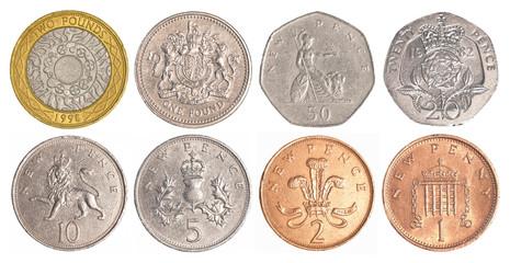 england circulating coins