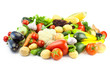 Different Vegetables / Big Assortment of Food isolated