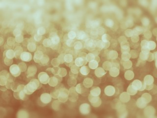 Gold abstract lights