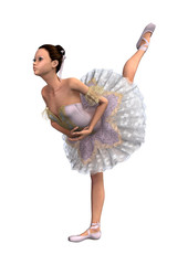 Female Ballet Dancer Arabesque