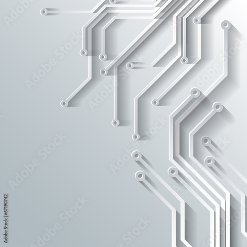 Abstract integrated circuit. Business background. - 67190742