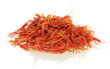 heap pile of saffron