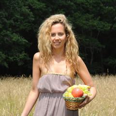 jeune femme blonde