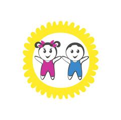 иконка дети и мода